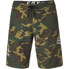 Fox Overhead Camo Stretch Boardshorts Heren, green camo